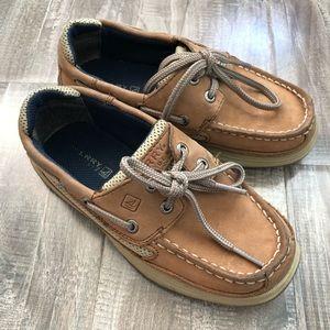 Sperry boys boat shoe